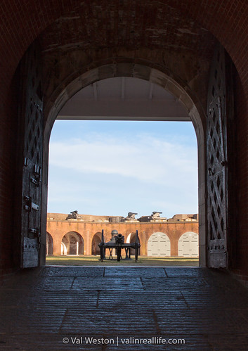 fort pulaski national monument - val in real life