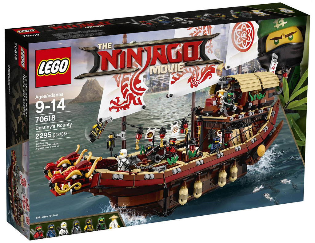 The LEGO Ninjago Movie 70618 - Destiny's Bounty