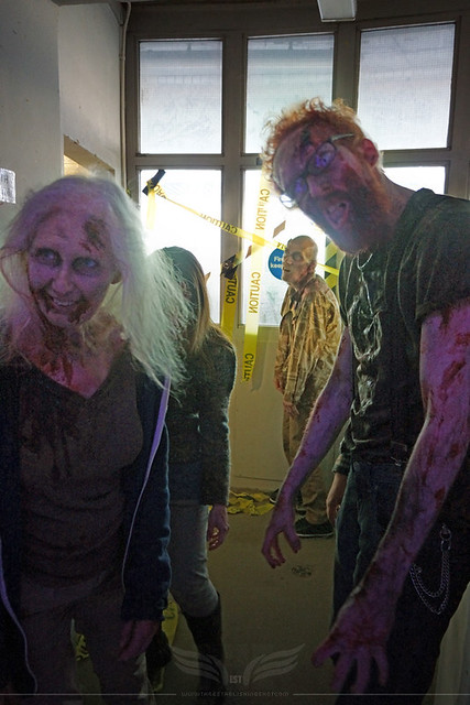 The Establishing Shot: FEAR THE WALKING DEAD LAUNCH – ZOMBIE WALKERS ATTACK @ BT TOWER