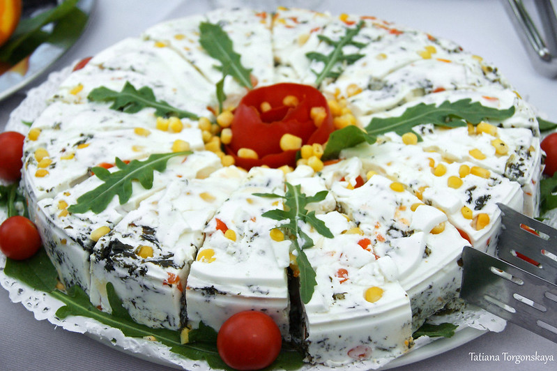 Сырный торт
