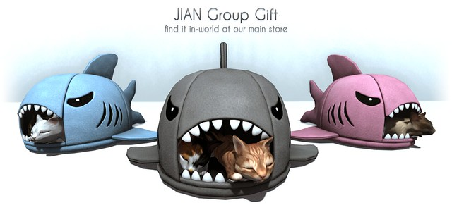 New JIAN Group Gift :: Kitty Shark Beds
