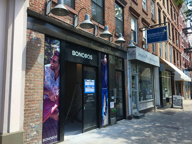 Bonobos Latest National Retailer To Open Store On Court Street In Brooklyn.