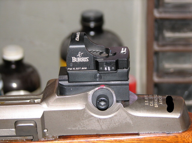 Solution For Old Eyes And M1 Garand Sights