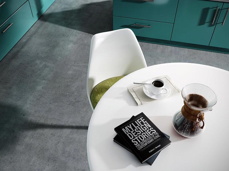 Modern Green kitchen Cam 3