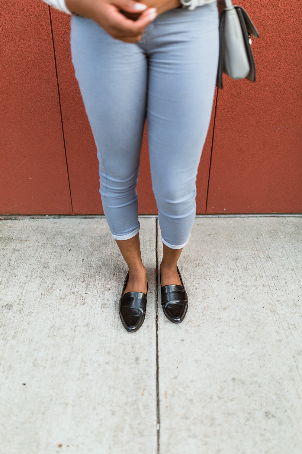 how to style black loafers