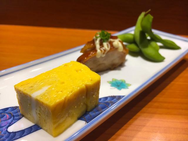 TOUAN Yakitori & Robata - Japanese Appetizer - Tamagoyaki, Teriyaki Chicken and Edamame