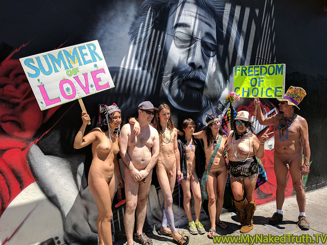 Nude Summer of Love Parade in San Francisco - May 20, 2017