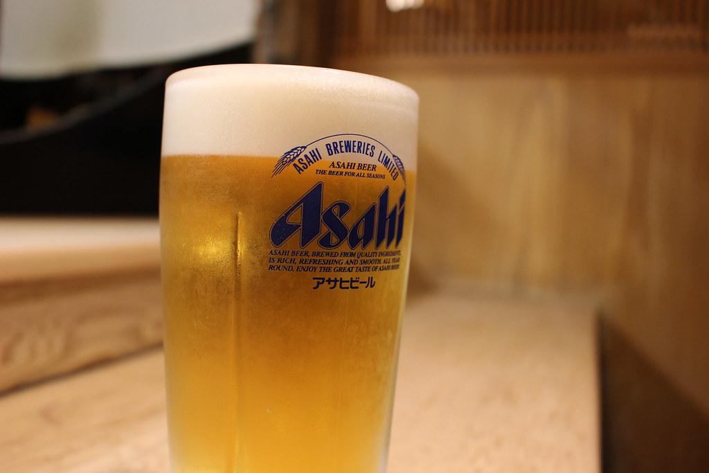 生ビール中