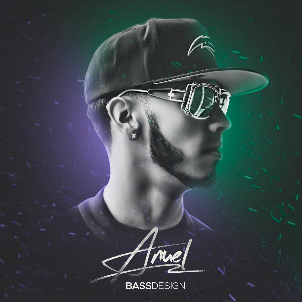 Anuel Aa Cover By Bass Bass Design Flickr