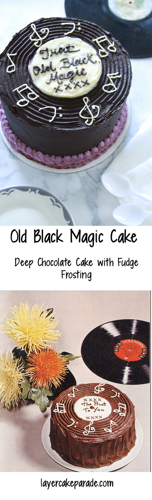 Old Black Magic Cake