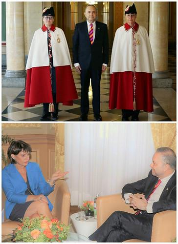 Presentación de Cartas Credenciales ante Presidenta de Suiza