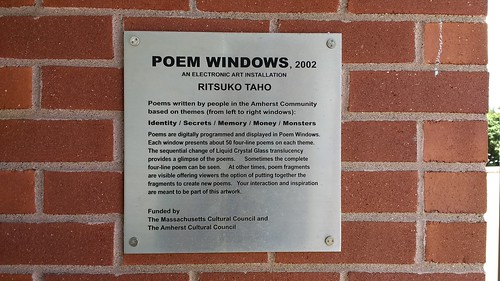 Poem Windows Dedication