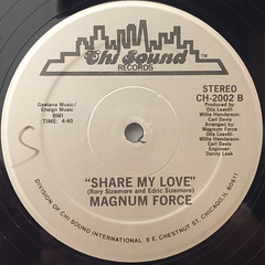 MAGNUM FORCE:A TOUCH OF FUNK(LABEL SIDE-B)