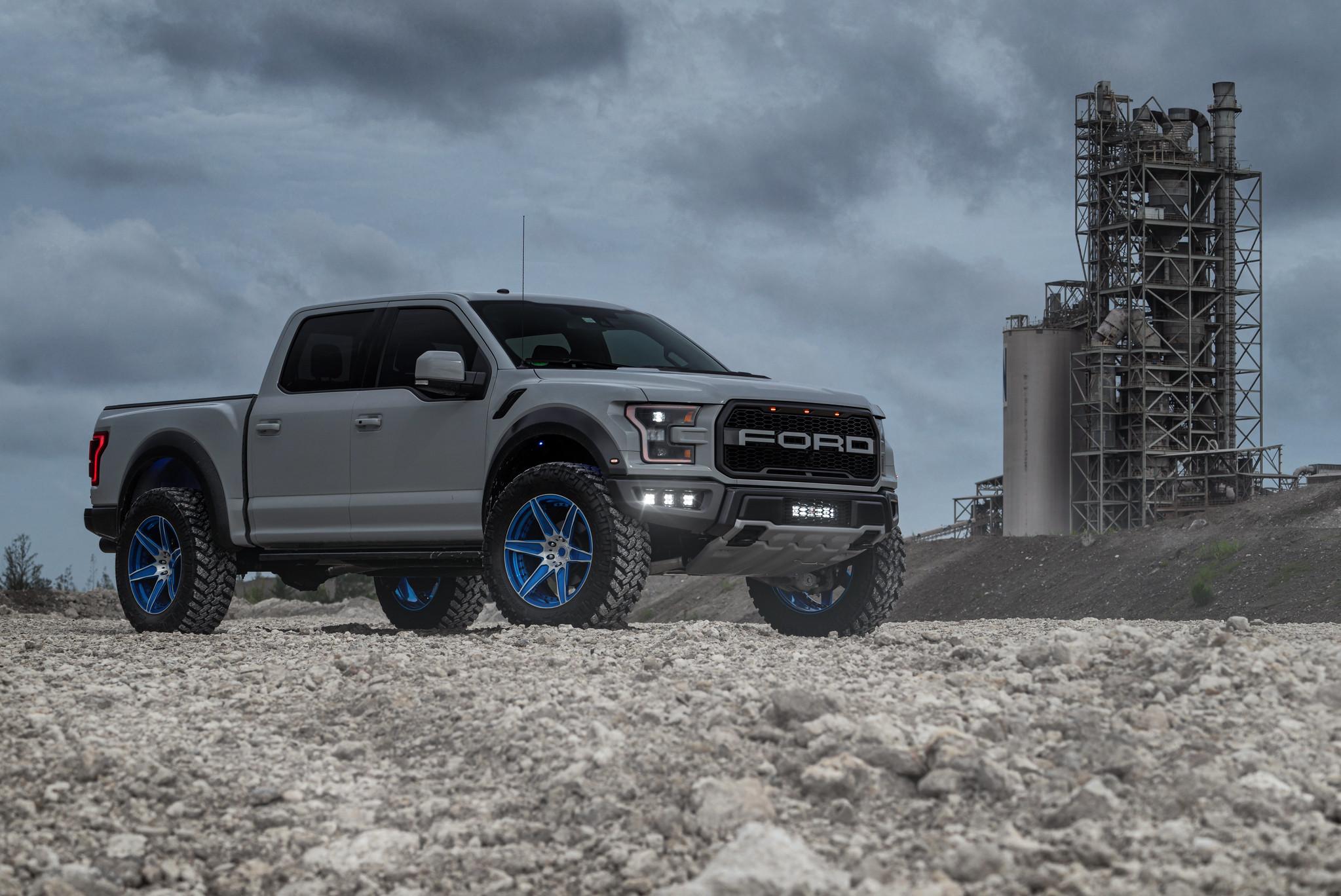 Ford Raptor White