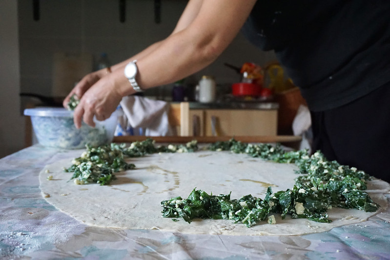 the making of burek