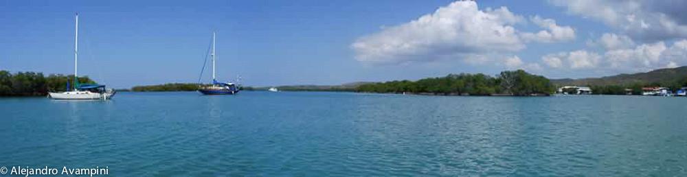 La parquera un lugar espectacular, cerca de la bahía fluorescente.