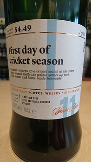 SMWS 54.49 - First day of the cricket season