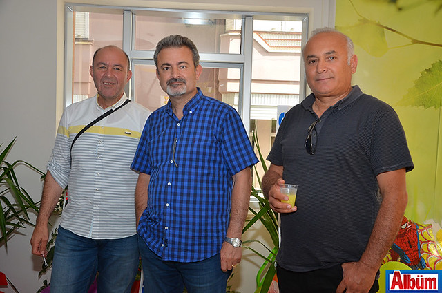 Bülent Kandemir, Ayhan Gedikoğlu, Yüksel Erkol