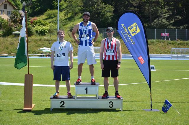 Championnats vaudois simples 2017 U16 et + - podiums