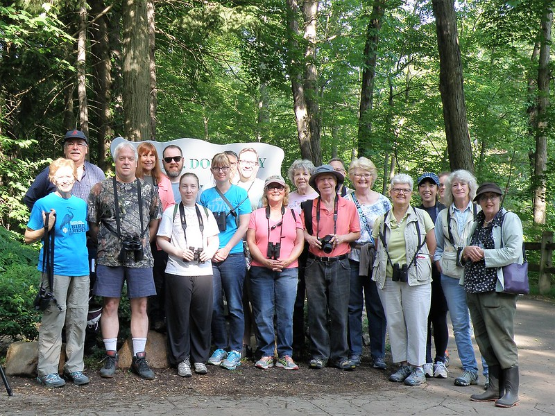 June Rocky River Birders by Penny O'Connor