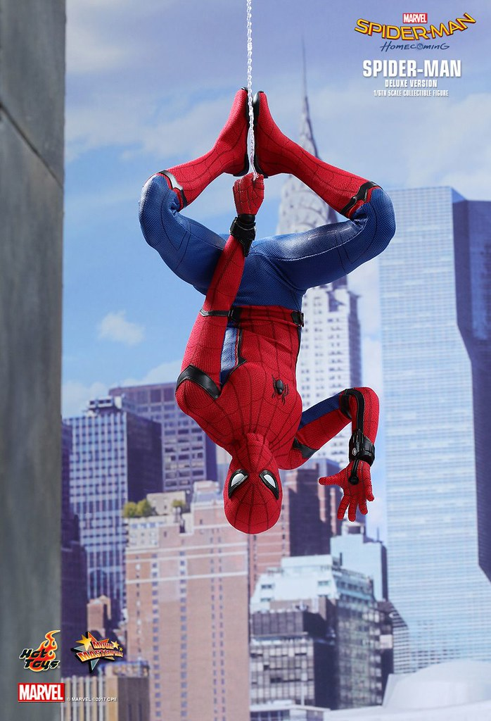 Hot Toys Spider Man Homecoming Deluxe Version Hot Toys H Flickr