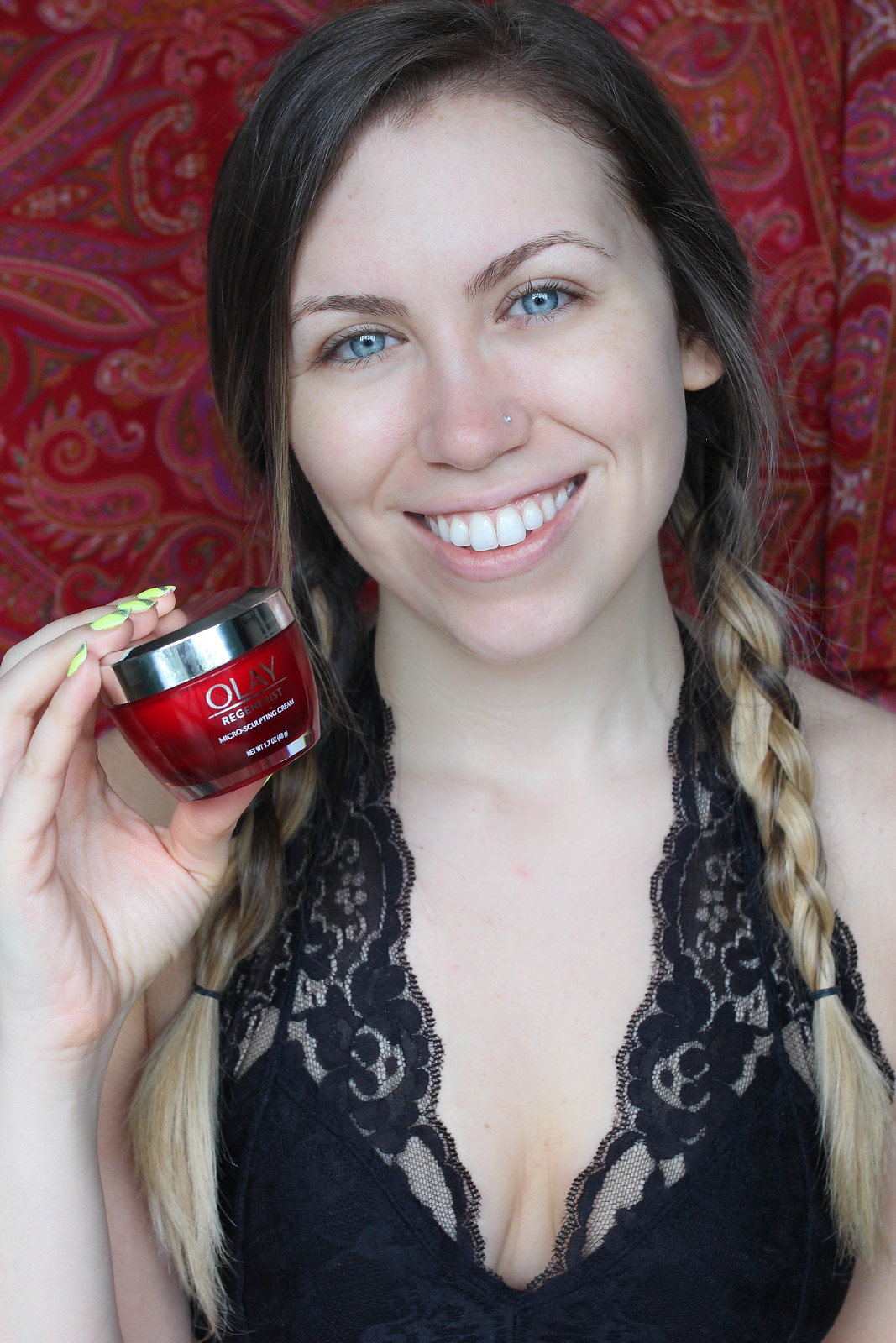 Why I'm Adding an Anti-Aging Cream to my Skincare Routine Olay Regenerist Micro Sculpting Cream