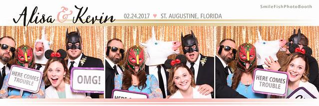 White Room Wedding Villa Blanca Photo Booth   St. Augustine, FL