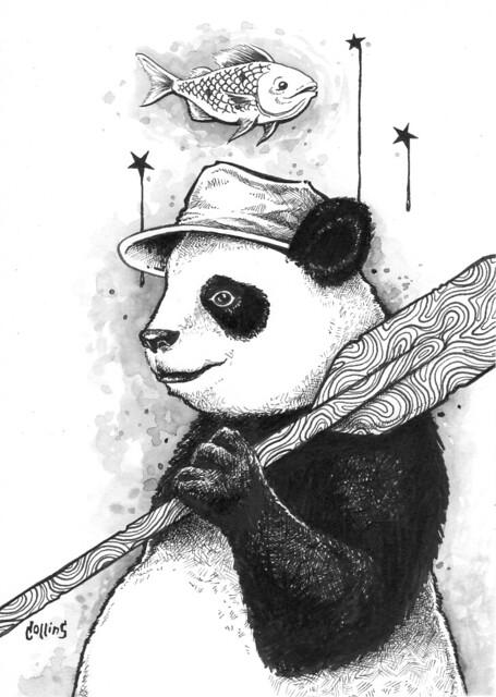 Panda Oar Fisherman
