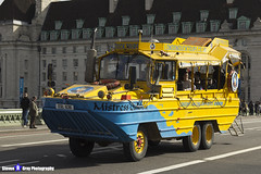 GMC DUKW - ESL 636 - Mistress Quickly - London Duck Tours - London 2017 - Steven Gray - IMG_8440
