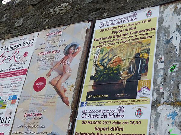 affiches à Dolceaqua