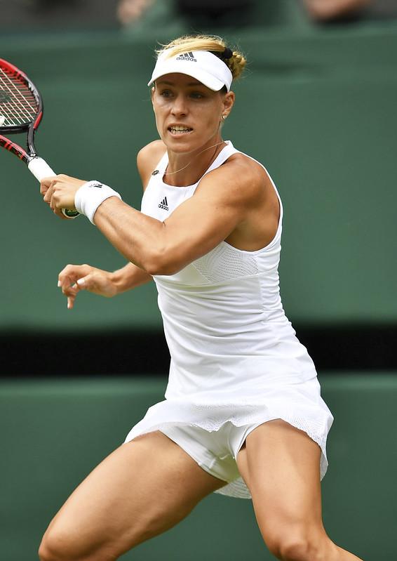 Angelique Kerber繼2016年後再次闖入溫網女單決賽。(達志影像資料照)