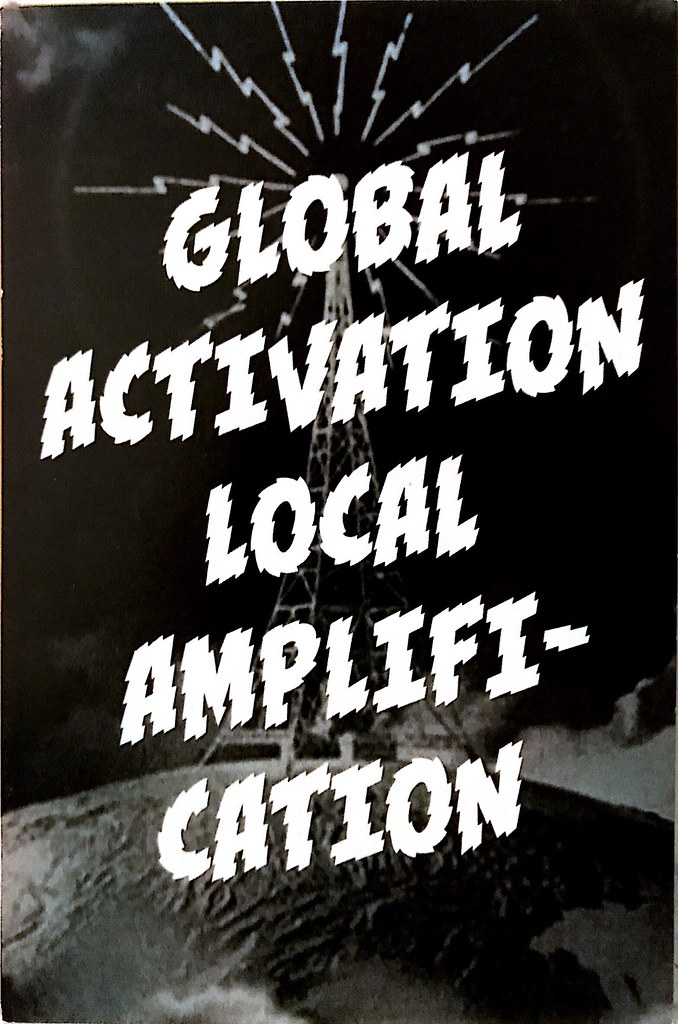 Global activation, local amplification