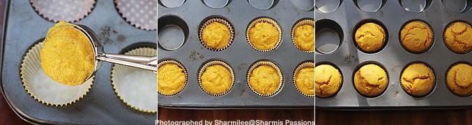 How to make Eggless mango muffins recipe - Step4