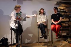 Sofia Olsson presenterar Harry Anderson och Sissel Gustafsson.