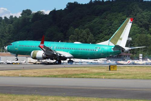 Boeing 737 MAX 8 Norwegian Air International N1799B (EI-FYD) LN6408
