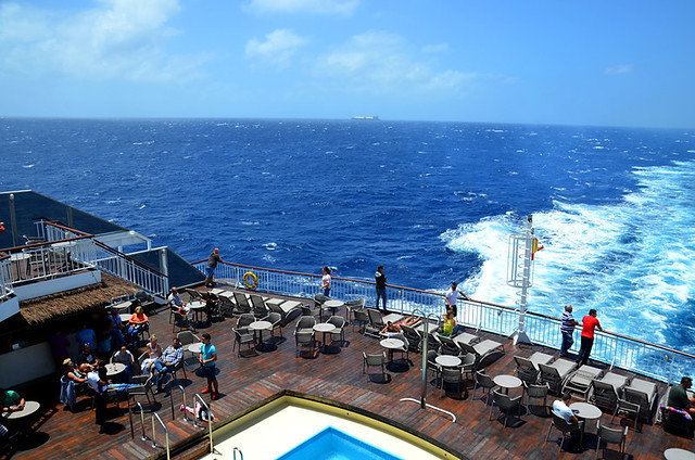 Naviera Armas ferry from Tenerife to Huelva