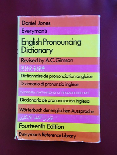 Daniel Jones, English Pronouncing Dictionary