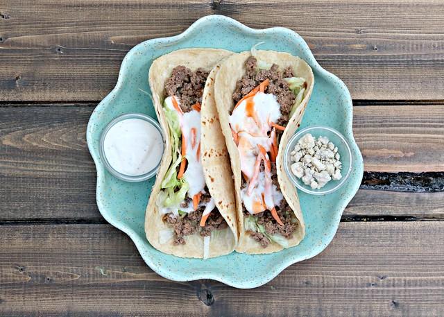 Buffalo Venison Tacos Top