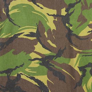 British Disruptive Pattern Material camouflage Angelo Caroli vintage