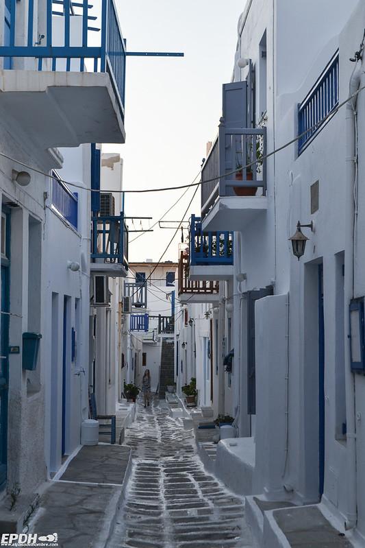 Callejuelas de Mykonos