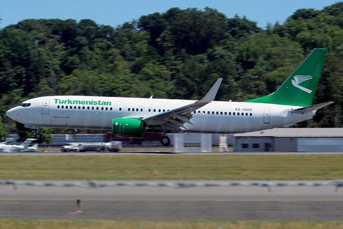 Boeing 737-82K(WL) Turkmenistan Airlines EZ-A020 LN6463