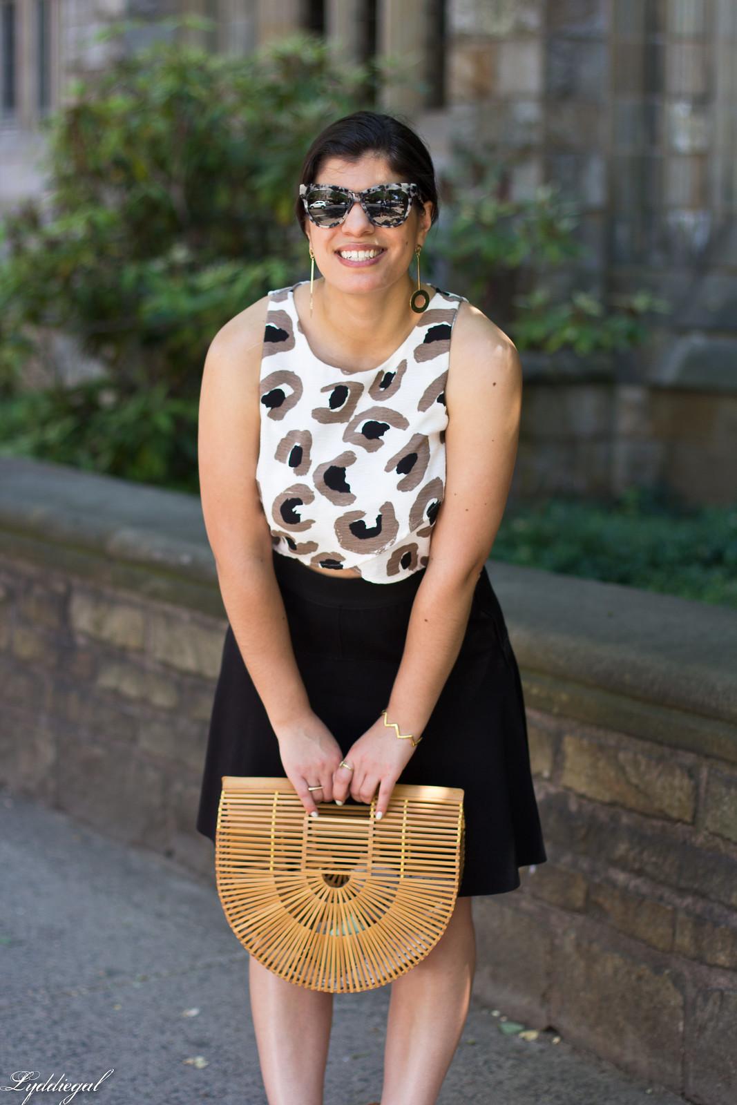 leopard crop top, black skirt, bamboo half moon bag-7.jpg