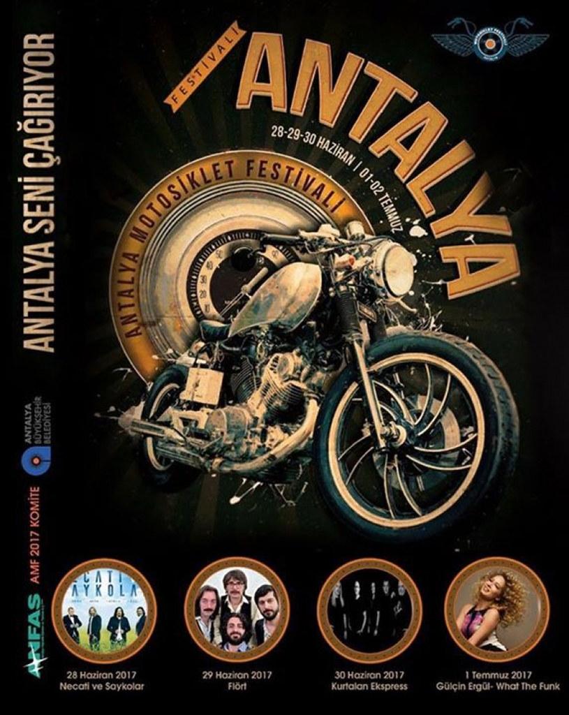 Antalya Motosiklet Festivali başlıyor3