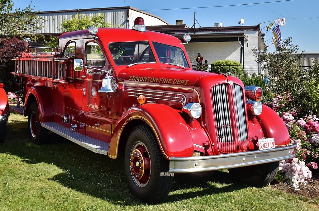 Ab 1951  >> 1951 Bickle Seagrave 66 Eb Fire Truck Edmonton Fire Dept Flickr