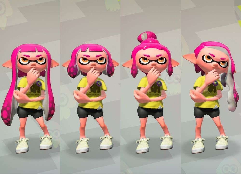 Inkling Girl Hairstyles New And Original Hairstyles For