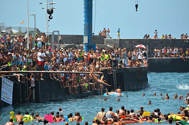 July fiestas, Puerto de la Cruz, Tenerife
