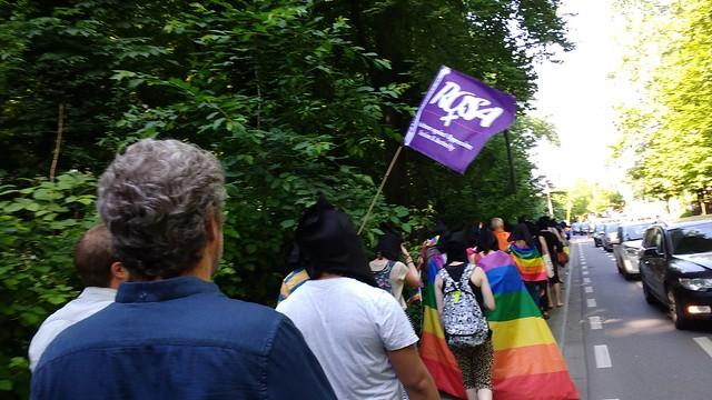 Action contre les persécutions homophobes en Tchétchénie