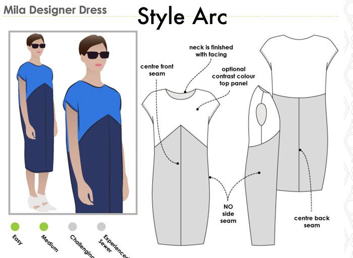 Style arc Mila dress