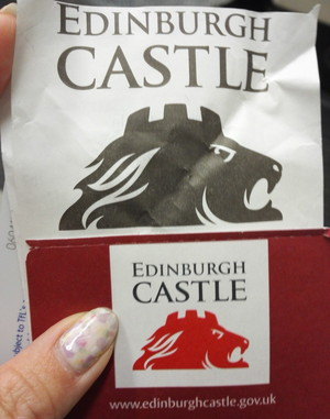 エディンバラ城のチケット