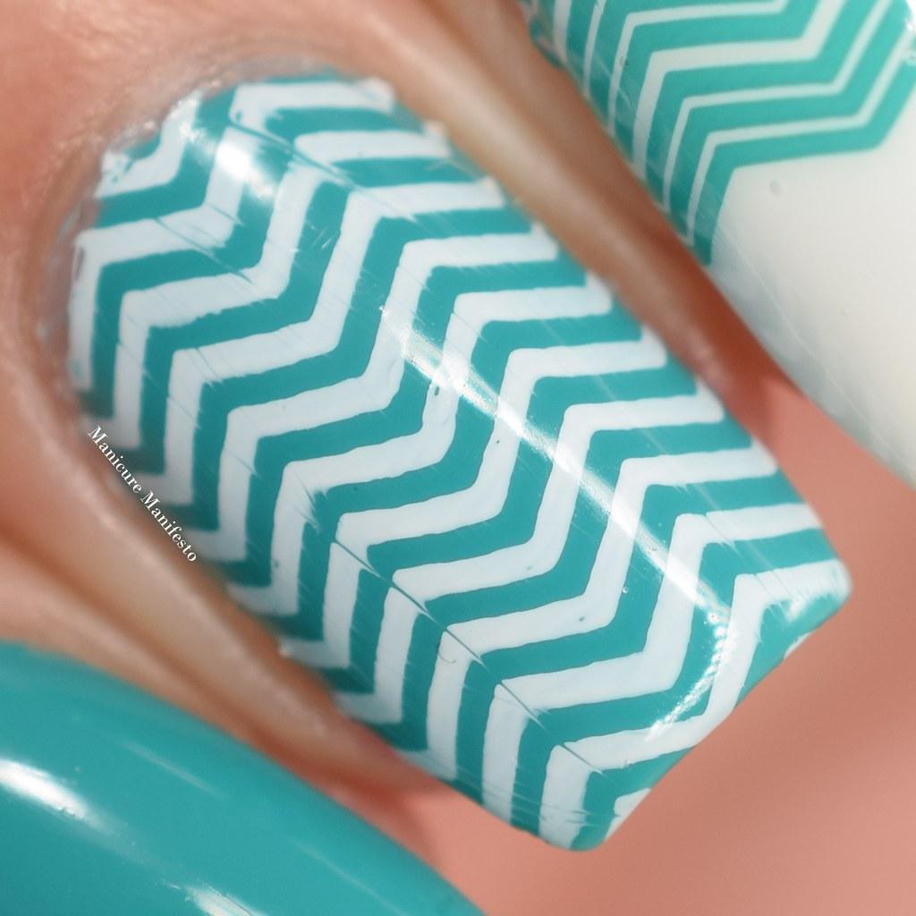 Lace nail stamping